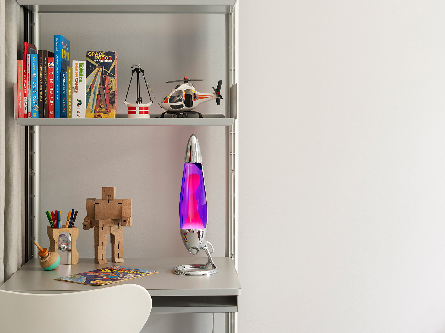 Lava lamp room - Neo Lava Lamp Silver Violet Pink