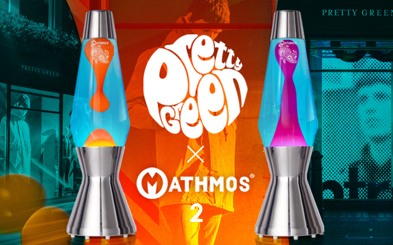 Pretty Green x Mathmos lava lamp 2