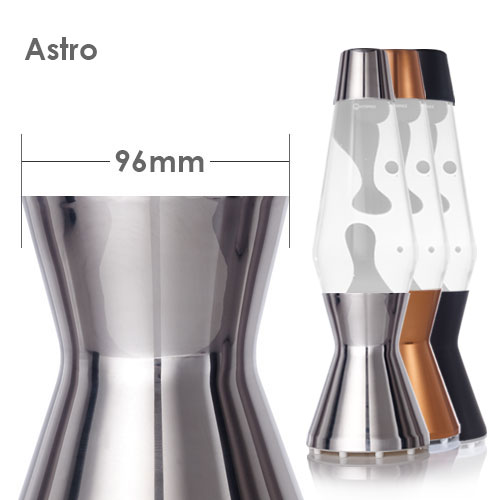 Astro lava lamp base and cap