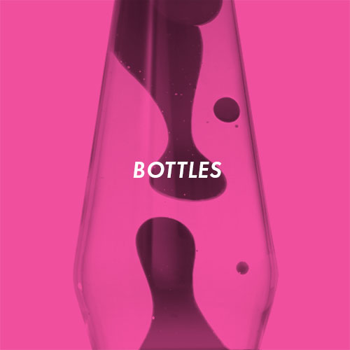 Lava lamp bottles