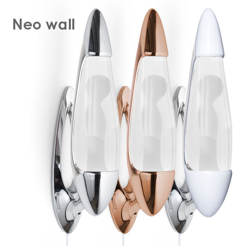 Neo wall lava lamp base, cap and parts