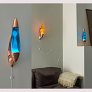 Neo Wall Lava Lamp - Multiples