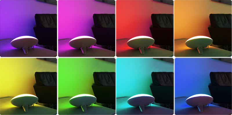 Jellywash 2 Mood light - colours