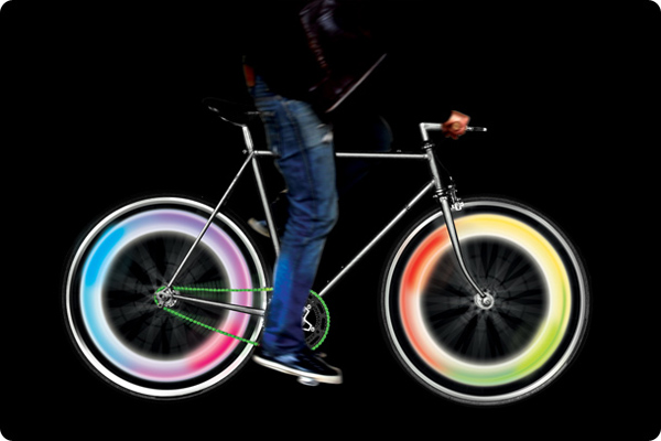 Bike Wheel Lights - Colour