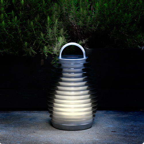 Mathmos Bump Lantern Outside