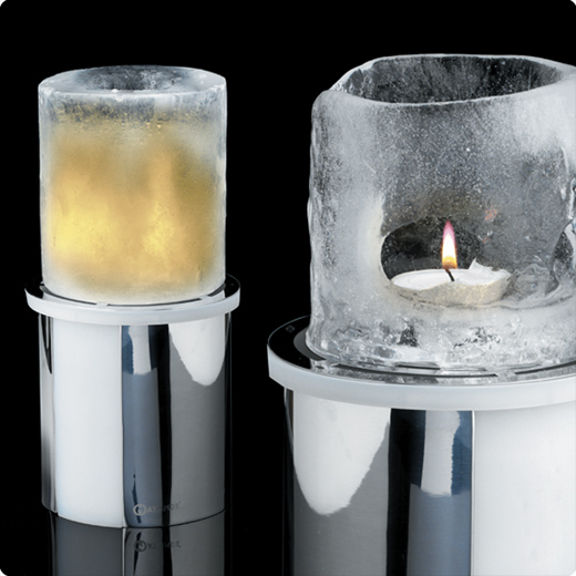 Thaw ice candle - White