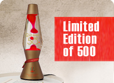 Astro Lava lamp 50th Year Limited Edition