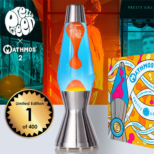 *New* Pretty Green x Mathmos lava lamp 2