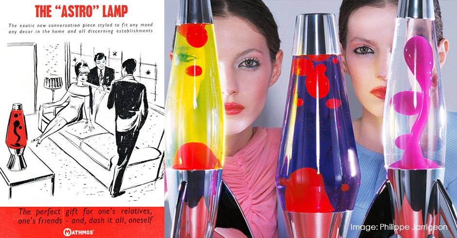 Mathmos lava lamps cultural icons