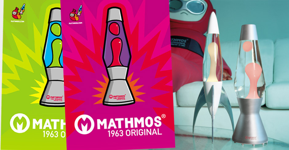 Mathmos lava lamps 90s