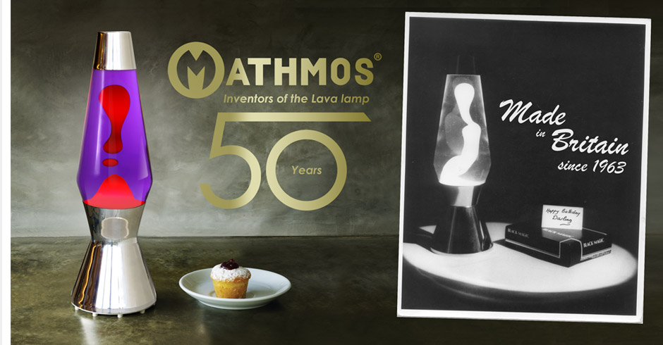 mathmos lava lamps - 50 years of experience