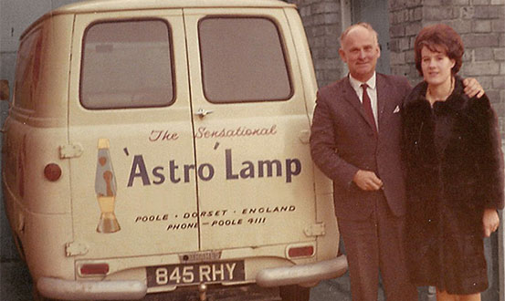 Lava lamps made in Britain since 1963